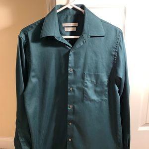 Geoffrey Beene men's dress shirt. Size 15.